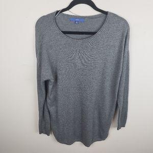 ✿❀ Apt. 9 Gray Dolman Sleeve Sparkle Sweater  ❀✿